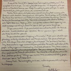 Bill's Letter to Frank