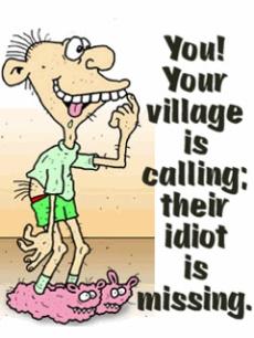 Glenn Frazier Miller, Idiot, Imbecile